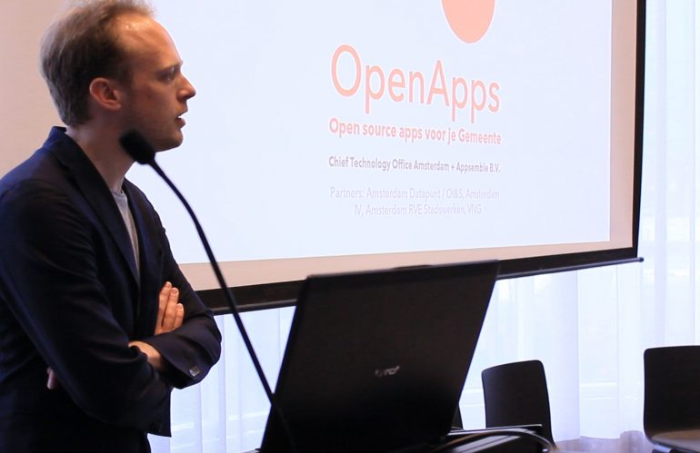 OpenApps low code development platform